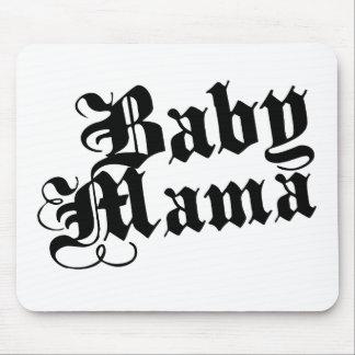 Mamá del bebé tapete de ratón