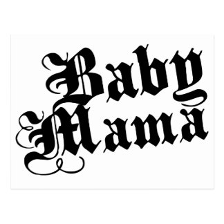Mamá del bebé tarjeta postal