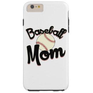 Mamá del béisbol funda de iPhone 6 plus tough