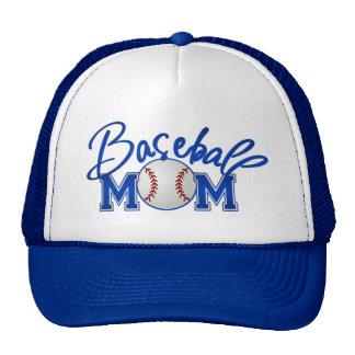 Mamá del béisbol gorras de camionero