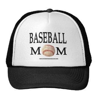 Mamá del béisbol gorros bordados