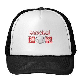 Mamá del béisbol gorros