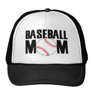 MAMÁ del béisbol Gorra