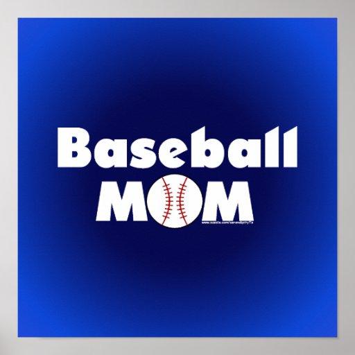 Mamá del béisbol impresiones