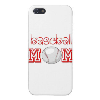 Mamá del béisbol iPhone 5 carcasa