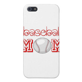 Mamá del béisbol iPhone 5 funda