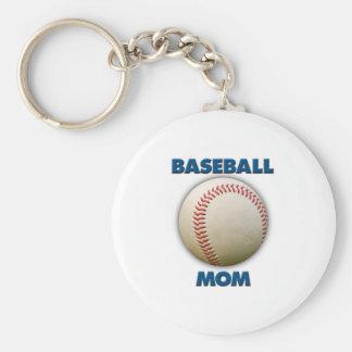 Mamá del béisbol llavero