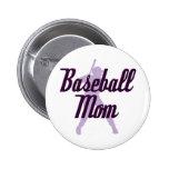 Mamá del béisbol pin