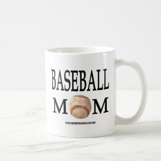 Mamá del béisbol taza de café