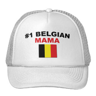 Mamá del belga #1 gorra