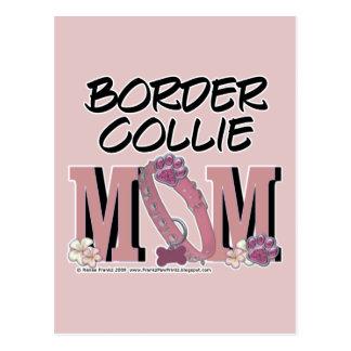 MAMÁ del border collie Tarjetas Postales