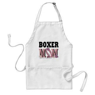 MAMÁ del boxeador Delantal