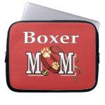 Mamá del boxeador funda computadora