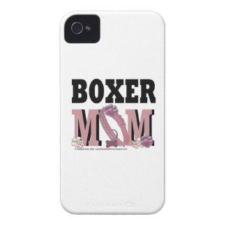 MAMÁ del boxeador iPhone 4 Carcasas