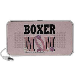 MAMÁ del boxeador Laptop Altavoces