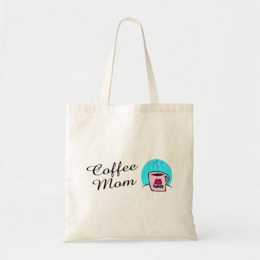 Mamá del café bolsa tela barata