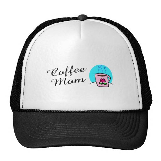 Mamá del café gorro de camionero