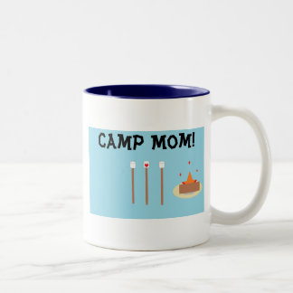 ¡Mamá del campo! Taza De Dos Tonos