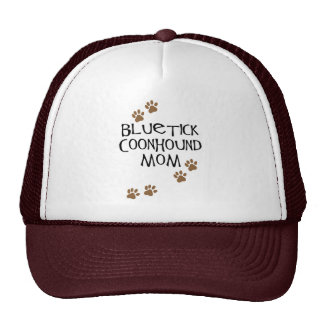 Mamá del Coonhound de Bluetick Gorras