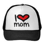 ¡Mamá del corazón I - mamá del amor de I! Gorras