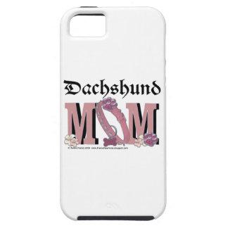MAMÁ del Dachshund iPhone 5 Carcasa