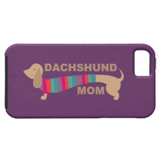 Mamá del Dachshund iPhone 5 Funda
