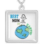 Mamá del día de madres la mejor en la tierra collares