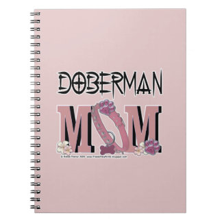 MAMÁ del Doberman Libro De Apuntes Con Espiral