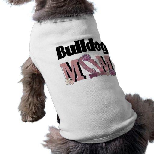 MAMÁ del dogo Camisas De Mascota