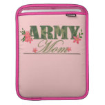 Mamá del ejército fundas para iPads