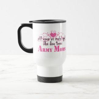 Mamá del ejército, igual creado taza