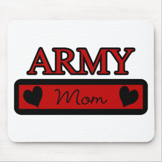 Mamá del ejército tapetes de raton
