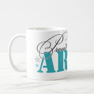 Mamá del ejército taza de café