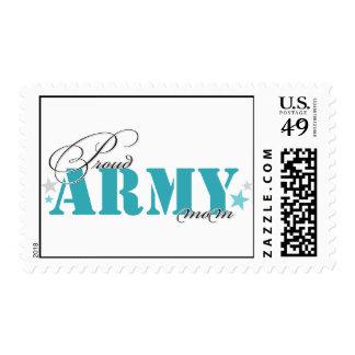 Mamá del ejército timbre postal