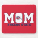 Mamá del estado de Fresno Alfombrilla De Raton