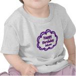 Mamá del feliz cumpleaños camiseta