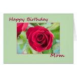 Mamá del feliz cumpleaños felicitaciones
