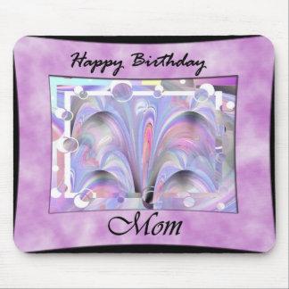 Mamá del feliz cumpleaños alfombrilla de raton