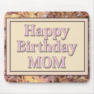 Mamá del feliz cumpleaños tapetes de ratones