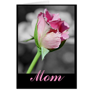 Mamá del feliz cumpleaños tarjeton