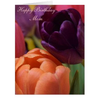 Mamá del feliz cumpleaños tarjeta de felicitación grande