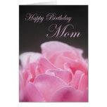 Mamá del feliz cumpleaños tarjetas