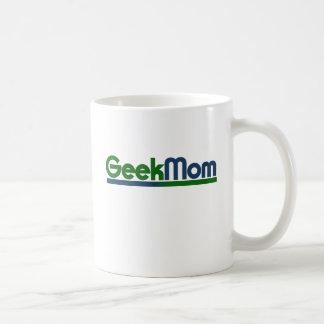 Mamá del friki taza de café