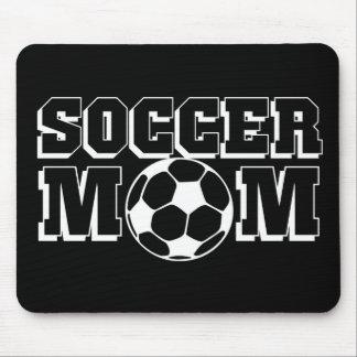 Mamá del fútbol alfombrilla de raton