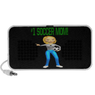 Mamá del fútbol iPhone altavoces