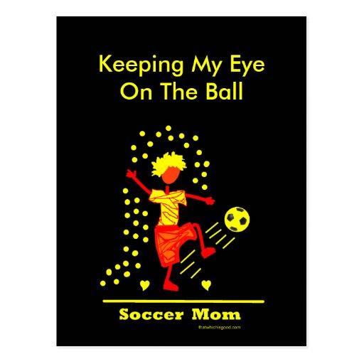 ¡Mamá del fútbol - bien amada! Postales