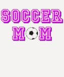 Mamá del fútbol camiseta