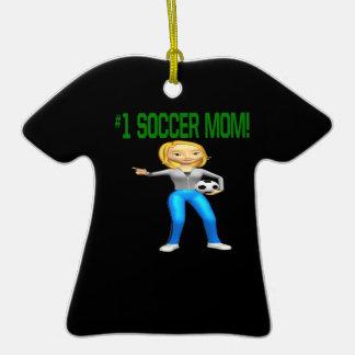Mamá del fútbol ornatos
