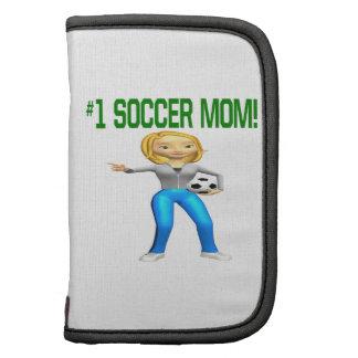 Mamá del fútbol organizador