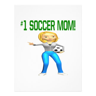 Mamá del fútbol tarjetones